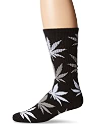 CHAUSSETTES HUF PLANTLIFE CREW BLACK