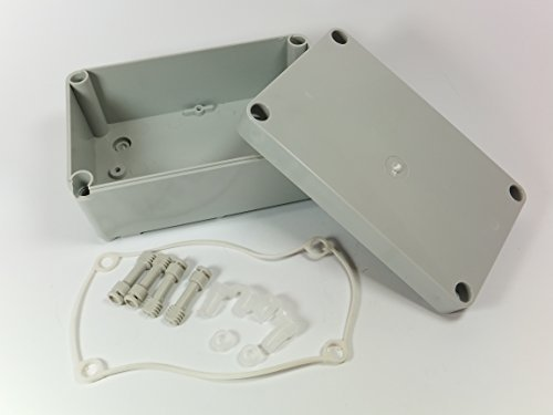 170 mm x 105 mm x 85 mm Wasserdicht Kunststoff Gehäuse Fall Power Abzweigdose
