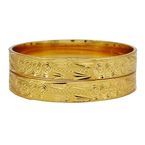 Banithani indiano braccialetto etnica oro mis gioielli tradizionali di bollywood indiano 2* 4, fede, colore: or-3, cod. bsg2610b