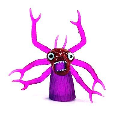 MIK funshopping Finger-Monster Scary SIX Purple - Beast for Your Finger