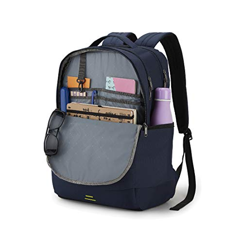Best samsonite backpack in India 2020 American Tourister Spin 29 Ltrs Navy Laptop Backpack (FS0 (0) 41 002) Image 4