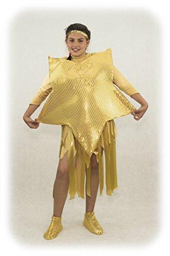 Imagen de disfraz de estrella de navidad 4, dorado