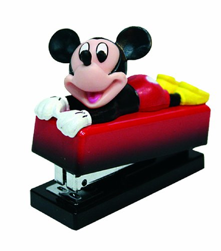 Mickey Mouse 180020 - Mickey Mini Hefter (6,2 x 3,5 x 5,5 cm)