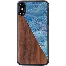coque iphone x effet bois