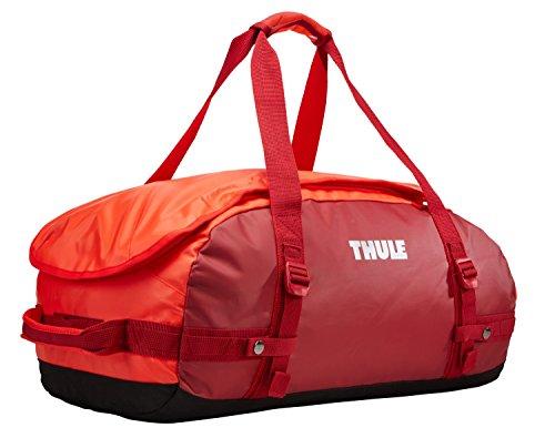 Thule Chasm-Borsa da viaggio, 40 l, colore: rosso Rojo y roarange