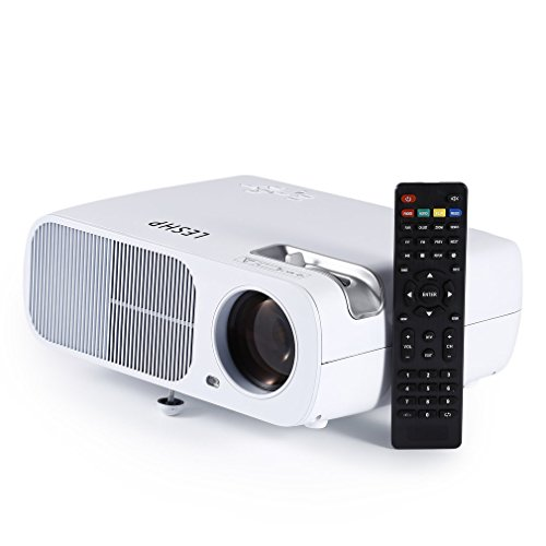 Videoproiettore con lampada LED da 3200 LM contrasto 2000:1 e risoluzione 1080p HD