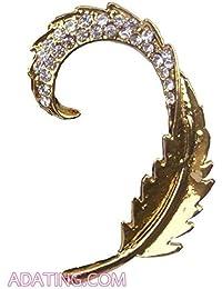 Hunar Arts & Handicrafts Hunar Arts And Handicrafts Statement Ear Cuff (For Single Ear)