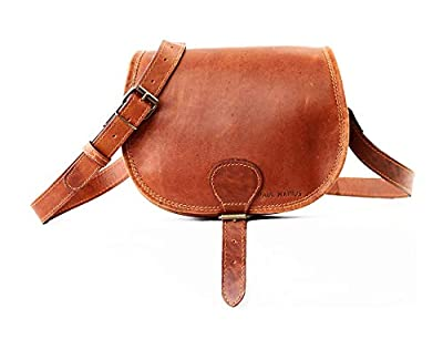 LE BOHEMIEN Light Brown leather shoulder bag bohemian style adjustable strap PAUL MARIUS