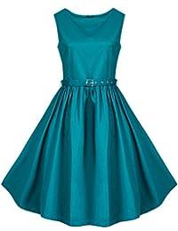 Zarlena Kleid Rockabilly Audrey Hepburn Abendkleid Tanzkleid 50s in vielen Farben und Größen