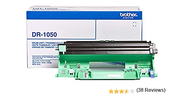 Tamburo DR1050 Compatibile per Brother DCP1510 1512 HL1110 1112 MFC1810 DR-1050 10.000 Pagine
