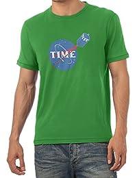TEXLAB - Time Logo - Herren T-Shirt