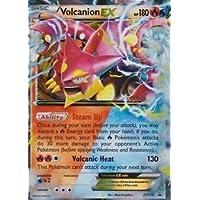 Volcanion EX Black Star Promo XY173 Fall Battle Heart Tin by Card Advantage Canada