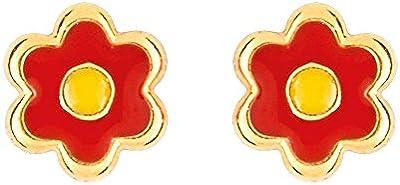 Bijoux pour tous - Pendientes de oro amarillo de 9 quilates