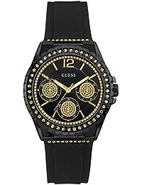 962c171a6426 Guess Reloj Analógico para Unisex Adultos de Cuarzo con Correa en Caucho  8434103166516