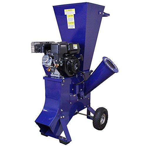 T-Mech - Trituradora de Ramas 6,5HP Gasolina para Destrucción de Ramas, Ramitas y Hojas para Jardineros...