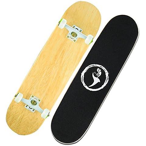 Diapositiva di montaggio professionale doppia inclinazione/Acero canadese macchiato pannelli/Bambini allenatori di pattinaggio/Adult strada skateboard-F