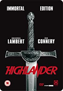 Highlander - Immortal Edition (Limited Edition Steel Tin - 2 Disc Special Edition) [DVD]