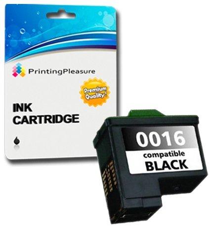 Printing Pleasure Druckerpatrone kompatibel zu Lexmark No. 16 Schwarz für Lexmark I3 X1100 X1110 X1130 X1140 X1150 X1160 X1170 X1180 X1185 X1190 X1195 X1200 X1250 X1270 X1290 X2230 X2250 - Lexmark All In One