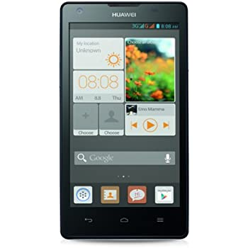 Huawei Ascend G700 Smartphone (12,7 cm (5 Zoll) Touchscreen, 8 Megapixel Kamera, 8 GB Interner Speicher, Android 4.2) weiß