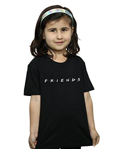 Absolute Cult Friends Girls Text Logo T-Shirt