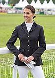 Shires - Giacca da equitazione, modello Aston Show da donna, varie taglie e colori disponibili, nero (nero), 38' (UK 14)
