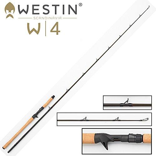 Westin W4 MonsterStick-T 5XH 233cm 120-260g - Bigbait Spinnrute für große Gummifische, Swimbaits & Wobbler, Bigbaitrute, Angelrute