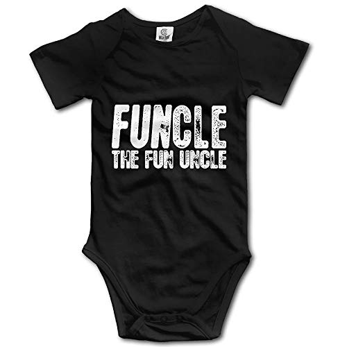 Huahai Funcle, The Fun Uncle Baby Outfit Creeper Short Sleeves - Creeper Girl Kostüm