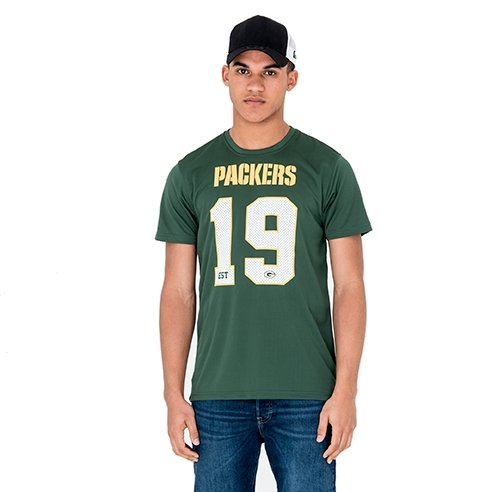New Era Supporters Tee Men Green Bay Packers Grün, Größe:M