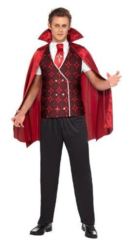 ig Vampir Dracula Anzug Kostüm Halloween Herren Gr. XL (Dracula-anzug)