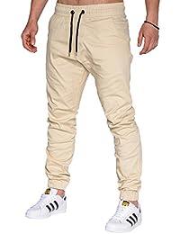 Betterstylz MasonBZ Chino-Jogger Pantalon Chino Èlégant Homme 25 couleurs (S-3XL)