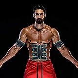 Electroestimulador Muscular Abdominales,Masajeador Eléctrico Cinturón,EMS Estimulador,Entrenador Portátil Masajeador Eléctrico Ejercitador del Cuerpo de Abdomen/Brazo/Pierna para Hombre o Mujer