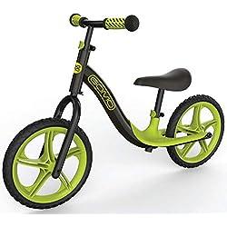 GOMO Bicicleta de Equilibrio niños de 18 Meses, 2, 3, 4 y 5 años de Edad - Bicicletas de Empuje de Colores Ultra Frescos para niños pequeños/sin Pedal, Scooter, Bicicleta con reposapiés