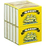 10 BOXS OF SHIP SAFETY MATCHES BRAND NEW (1 Pack of 10 Boxes)