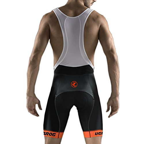 Uglyfrog Männer Radfahren Trägerhose, Bib Shorts Mit 4D Pro Tech Gepolsterte Performance Material, Herren Fahrrad Halbe Hosen, Atmungsaktiv Schnelltrocknende Strumpfhosen -