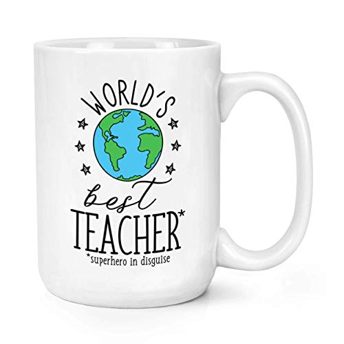 World's Best Teacher 15oz Large Tasse