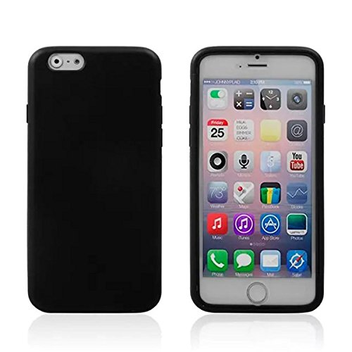 TPU Double Side Case Flip Housse de protection pour iPhone 6 noir