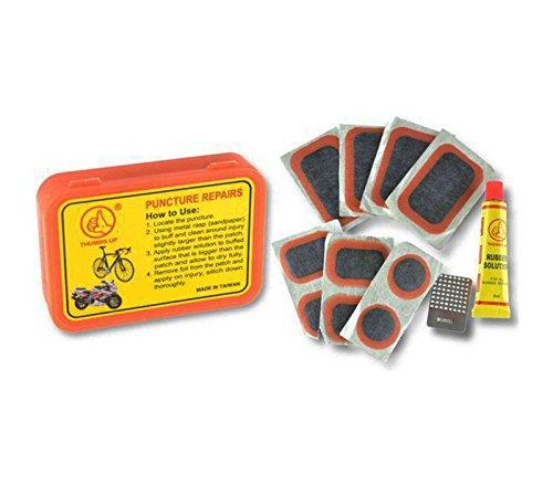 ONOGAL Kit de Reparacion para Pinchazos de Ruedas Camaras de Bicicleta y...
