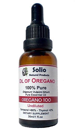 Orégano 100. 100% Puro Aceite Esencial Orégano 30