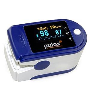 Pulox PO, Pulsoximeter mit OLED-Bildschirm