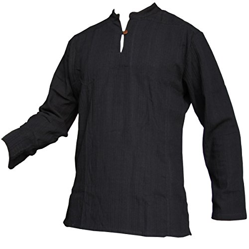 Fisherman Shirt Ben,Black, XL, Longsleeve