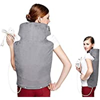 LIBINA - Schulter Heizkissen Wärmepads Elektrisches Heizkissen Shawl Wrap Relief Back Neck Shoulder Pain Relief... preisvergleich bei billige-tabletten.eu