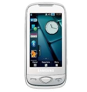 Samsung S5560 Player 5 Téléphone portable Quadribande Bluetooth Blanc