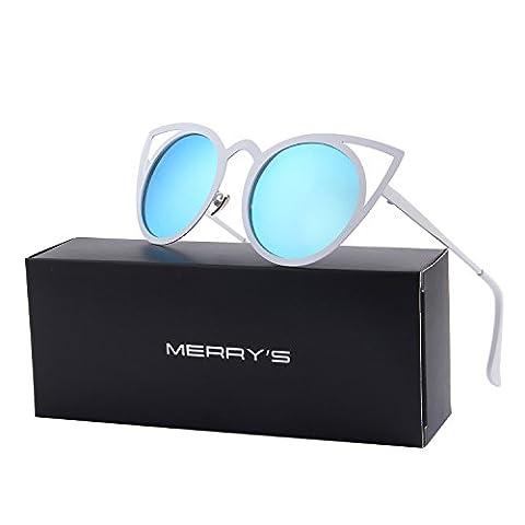 MERRY'S - Lunette de soleil - Femme bleu bleu