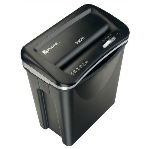 rexel-whisper-v30ws-strip-cut-paper-shredder-with-ultra-quiet-operation-black
