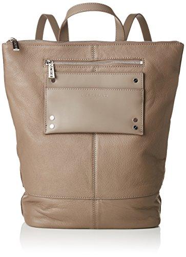 Liebeskind Berlin Damen Backpackm Leisur Rucksackhandtasche, Braun (Cold Grey), 11x48x36 cm