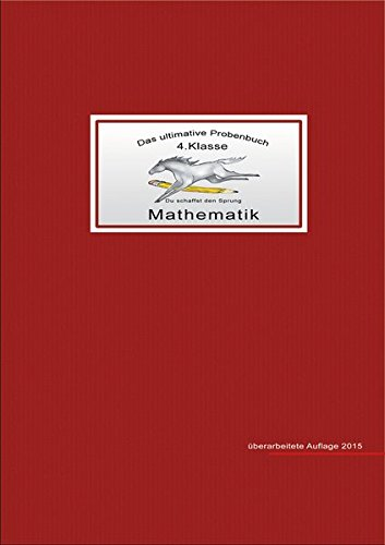 Das ultimative Probenbuch, Mathematik 4