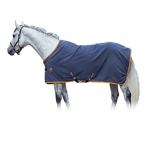 Horseware Amigo Stable Sheet 0g - Excal & Orange, Groesse:145