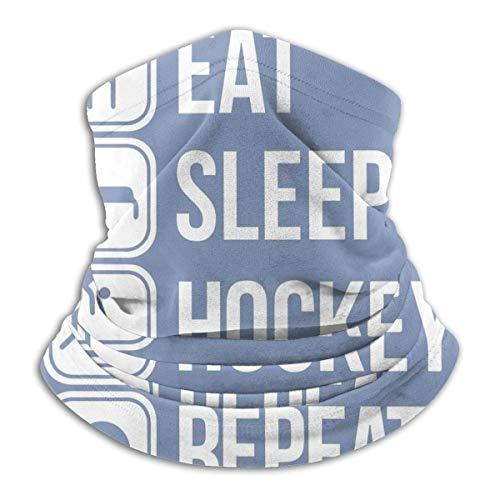 LiGHT-S Eishockey Unisex Mikrofaser Nackenwärmer Kopfbedeckung Gesicht Schal Maske Bandana Sturmhaube Winter Wetter Maske
