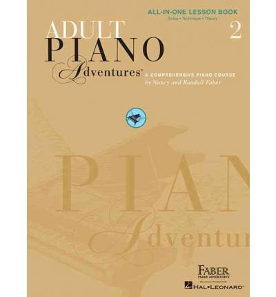 Adult Piano Adventures All-In-One Lesson Book 2: A Comprehensive Piano Course (Piano Adventures) (Paperback) - Common