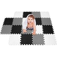 meiqicool Alfombrillas para bebé Gimnasio jigsaws Puzzles Accesorios de Puzzle Alfombrillas de Juego para Gatear Ejercicios de escaleras Marco de Fitness esterillas de Yoga,Protectora para Suelos